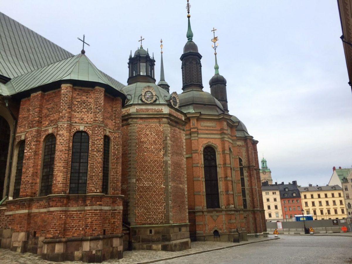 prédio mais antigo de Estocolmo