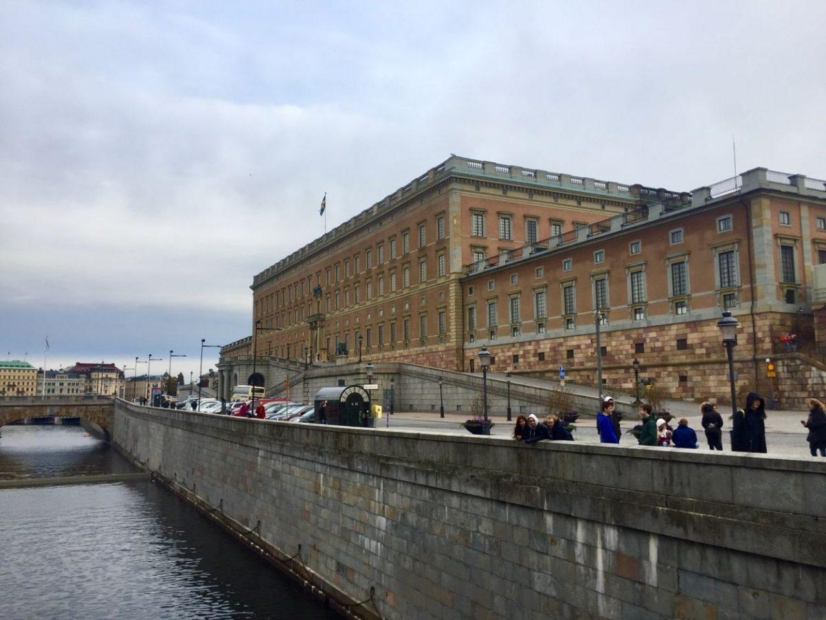Palácio real estocolmo