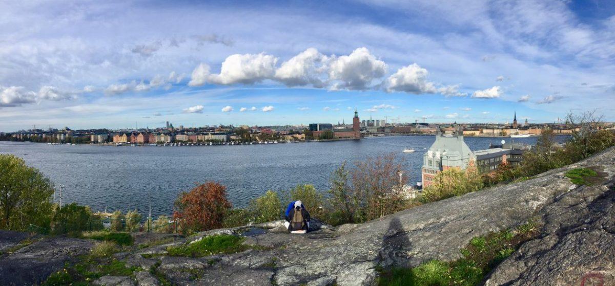 vista incrível na capital da Suécia