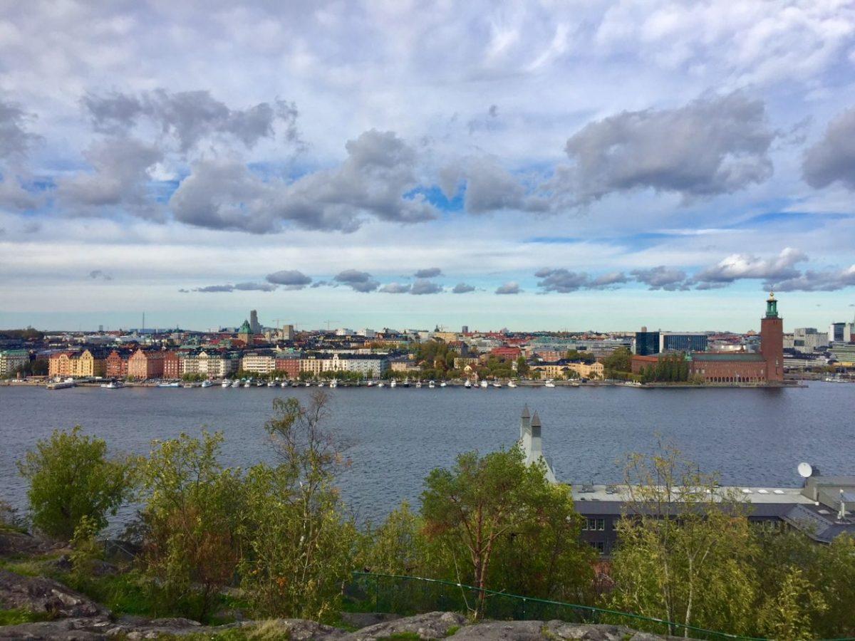 Vistas panorâmicas de Estocolmo