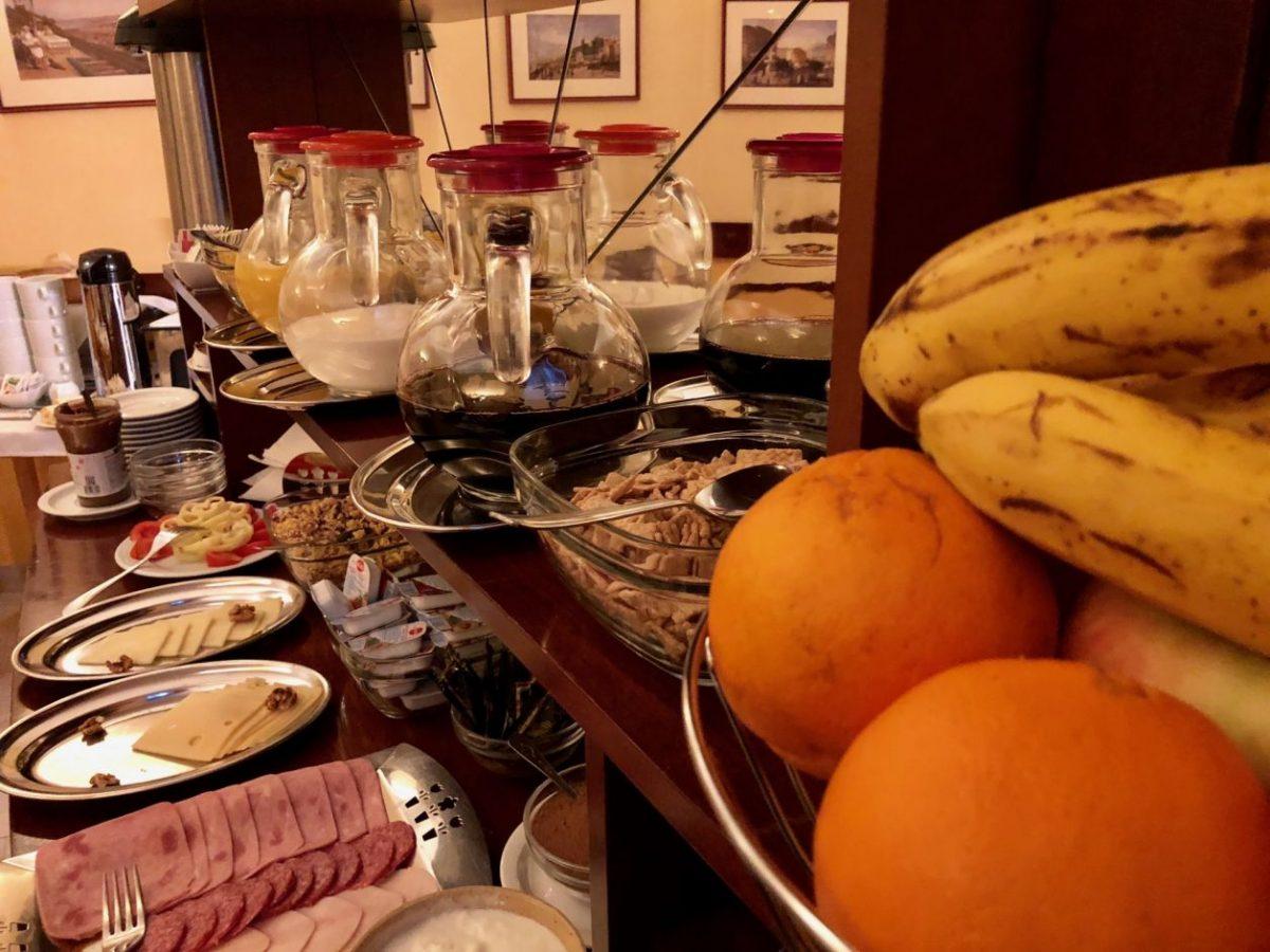 café da manhã hotel budapeste