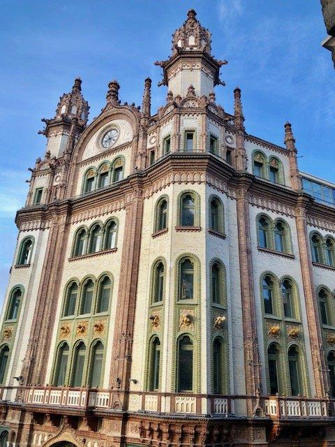 edifício budapeste
