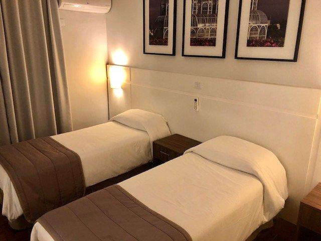 quarto hotel curitiba