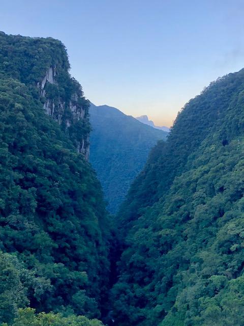 canyon serra do mar parana
