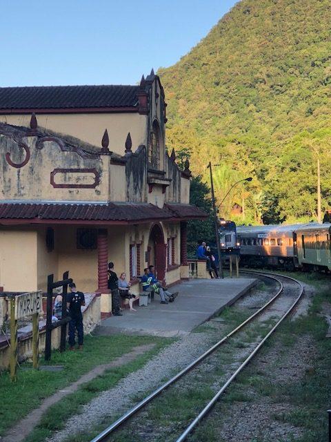 estação ferroviária curitiba Morretes