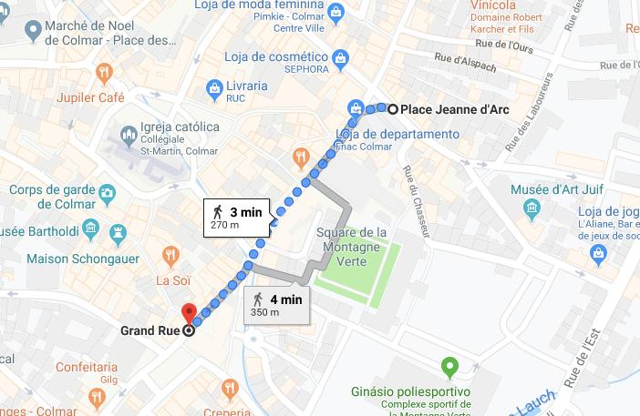 ruas centro colmar