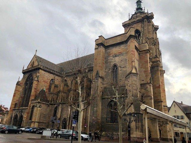 catedral colmar frança