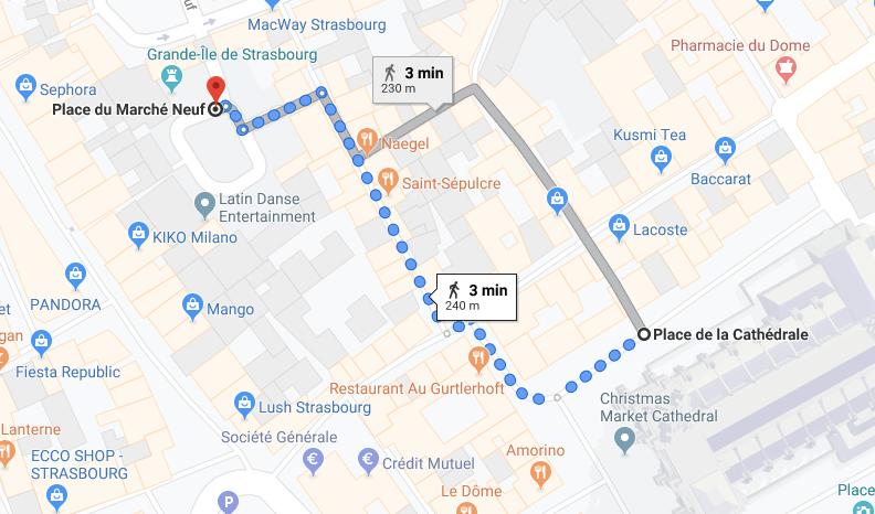 pontos turísticos estrasburgo