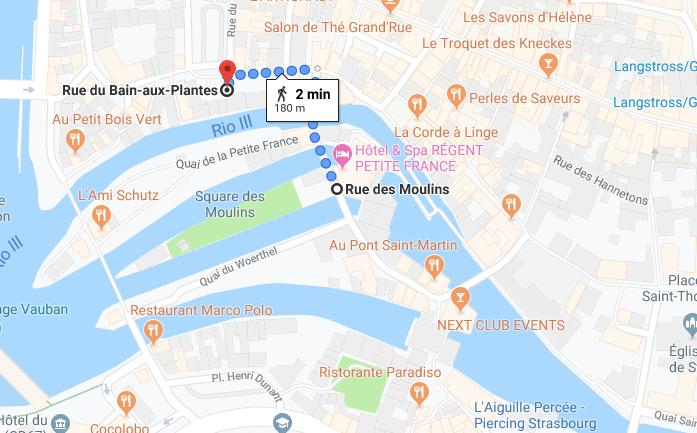 roteiro estrasburgo
