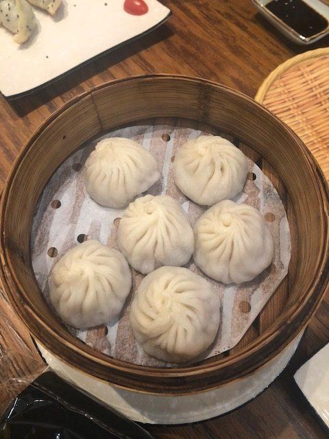 comida chinesa bao