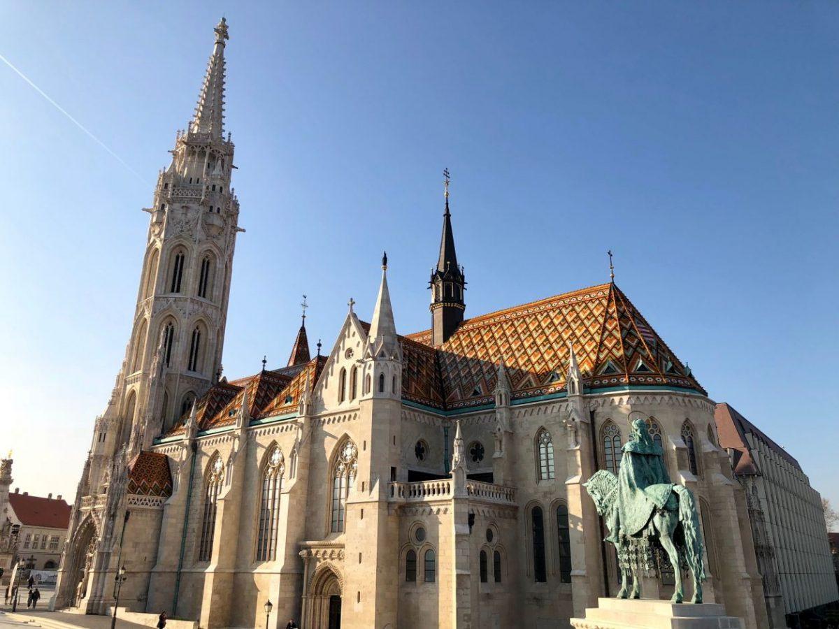 igreja Matias ponto turístico de budapeste