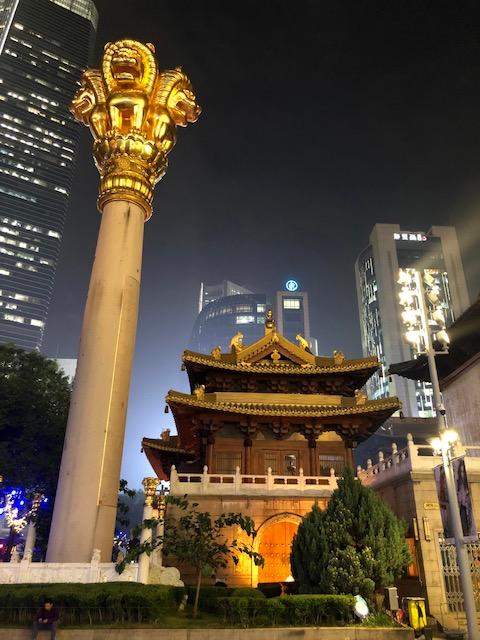 jiang temple o que fazer em Shangai