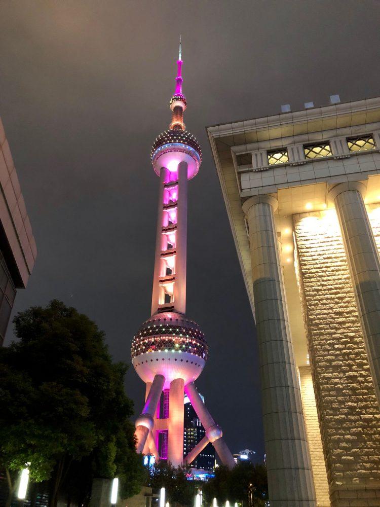 oriental pearl tower o que fazer em Shangai