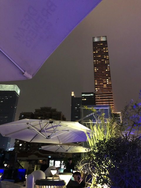 rooftop Shanghai