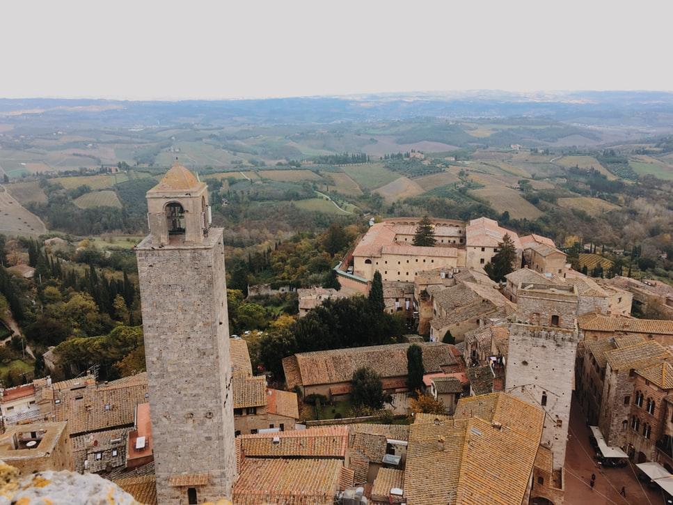 cidades Italia san Gimignano
