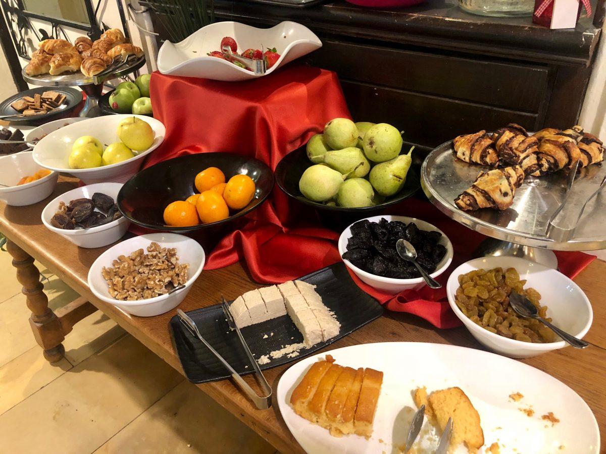 café da manhã hotel jerusalem