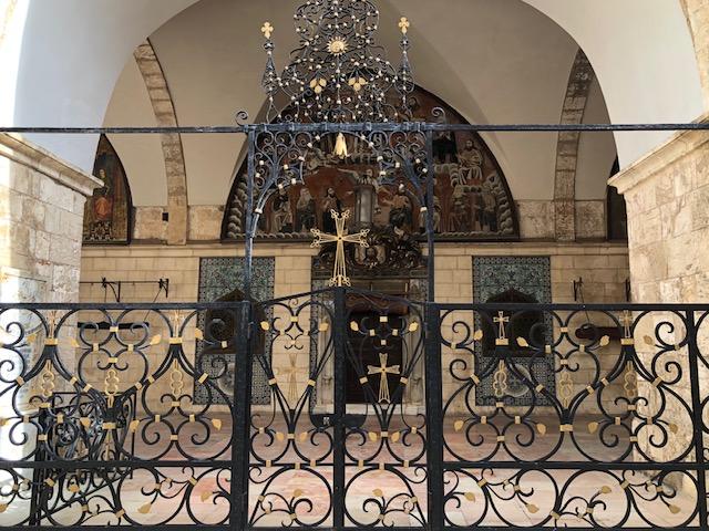 igreja armenia jerusalem