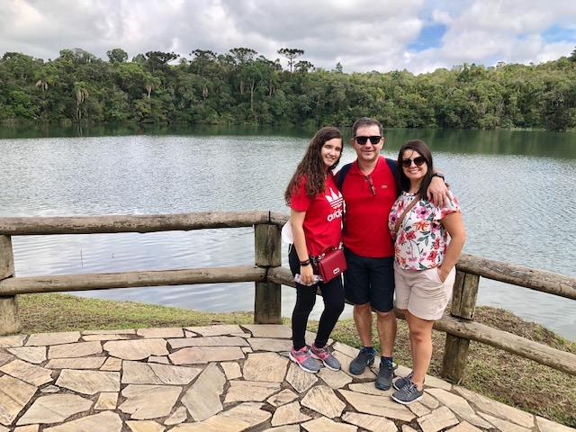 lagoa dourada parque Vila Velha
