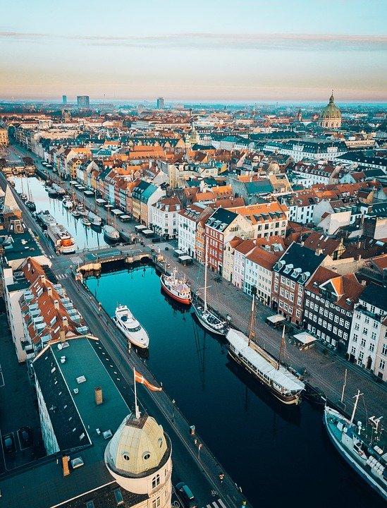 destinos de inverno Copenhague