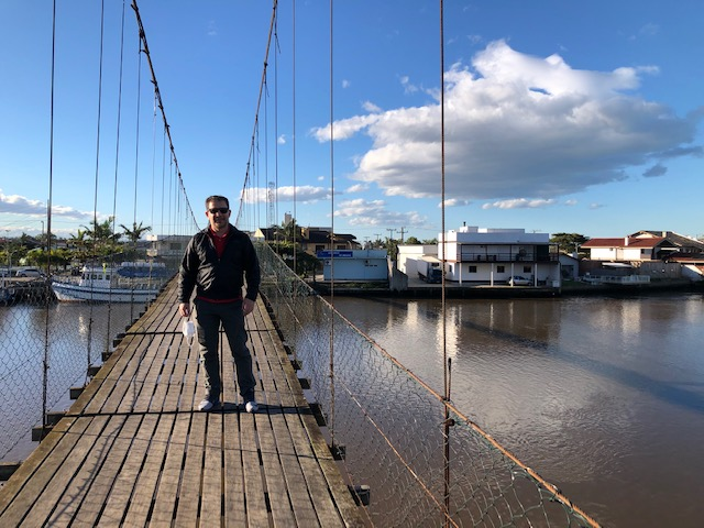 ponte pênsil rio mampituba