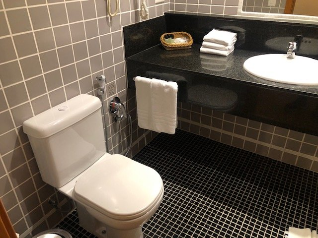 banheiro pestana hotel