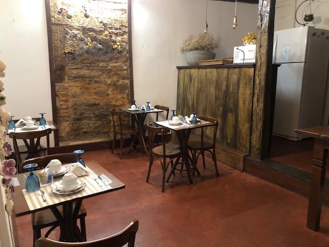cozinha hotel Ouro Preto