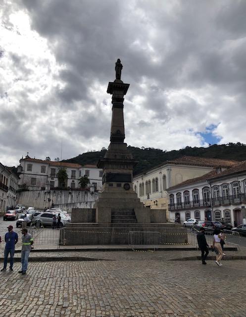 praça tiradentes o que fazer em Ouro Preto
